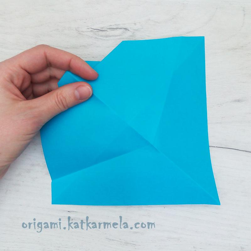 бумажный корабль оригами