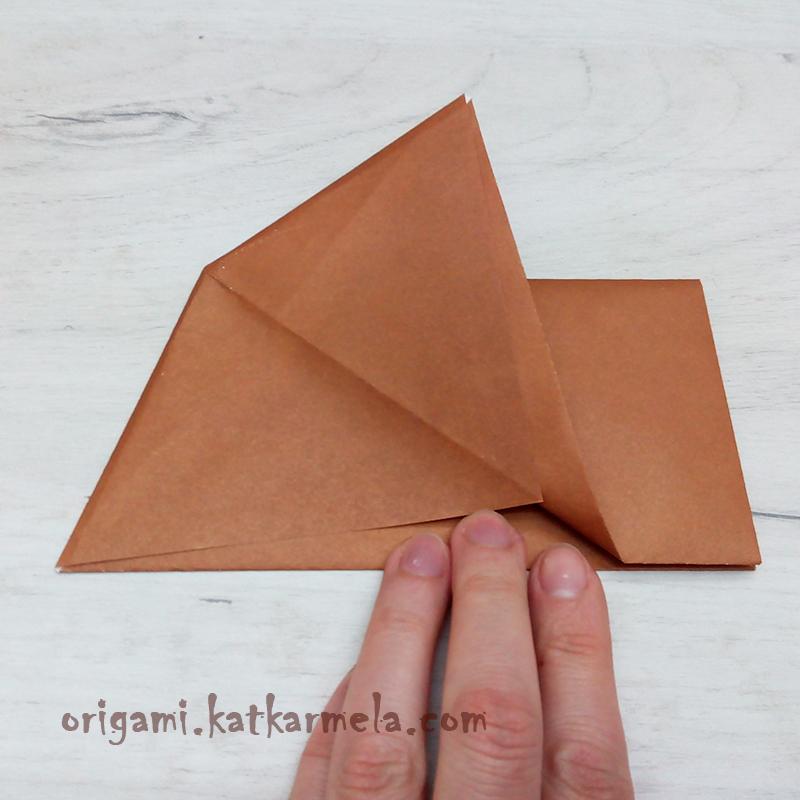 бумажный песик