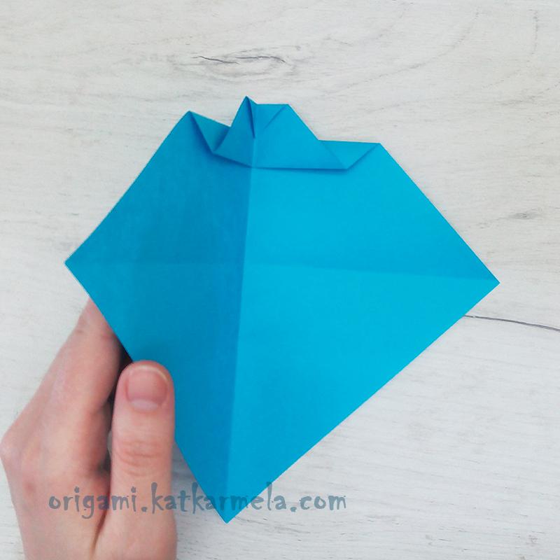 кораблю оригами из бумаги