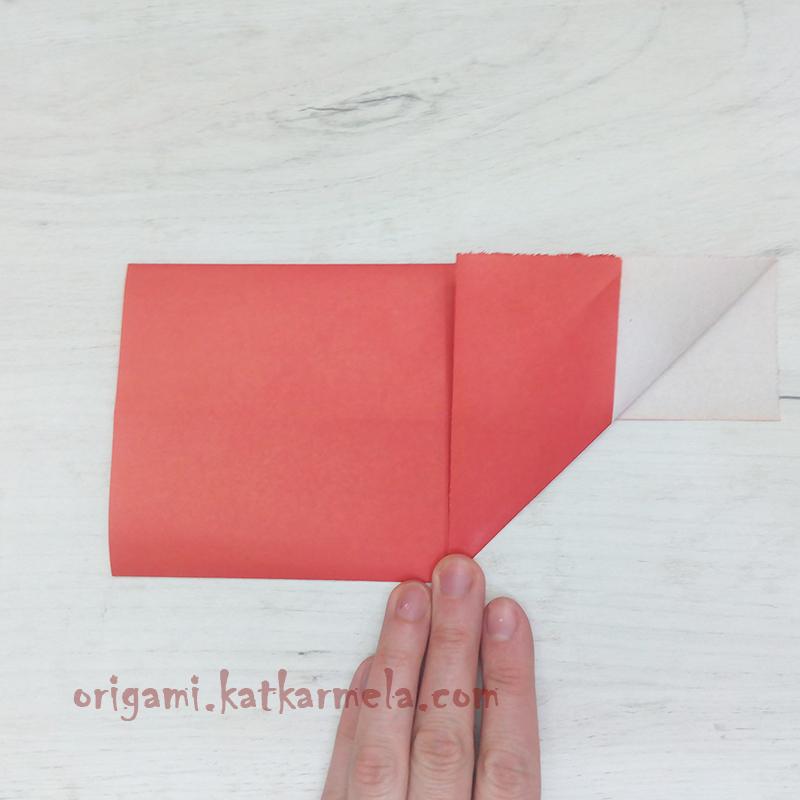оригами сердечко с крыльями