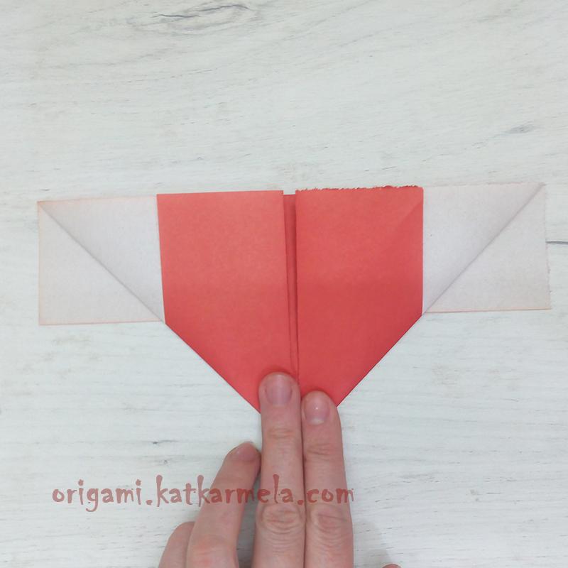 бумажное сердце с крыльями